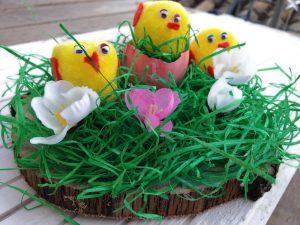 Pascua centro de mesa