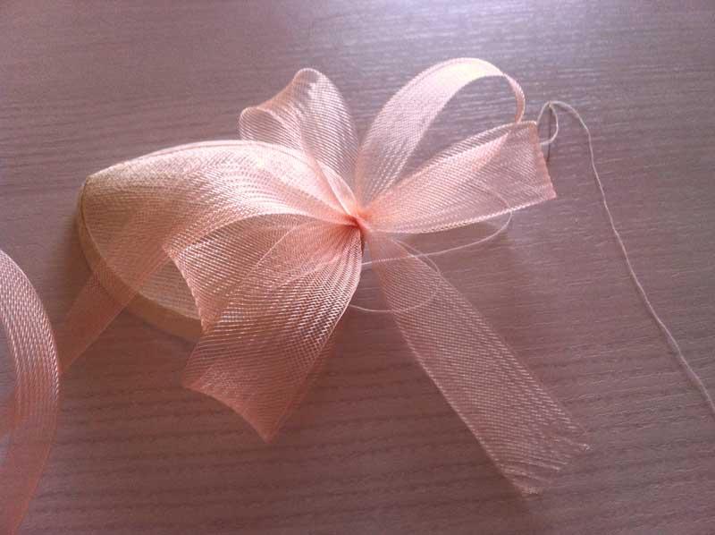 DIY Tocado para boda