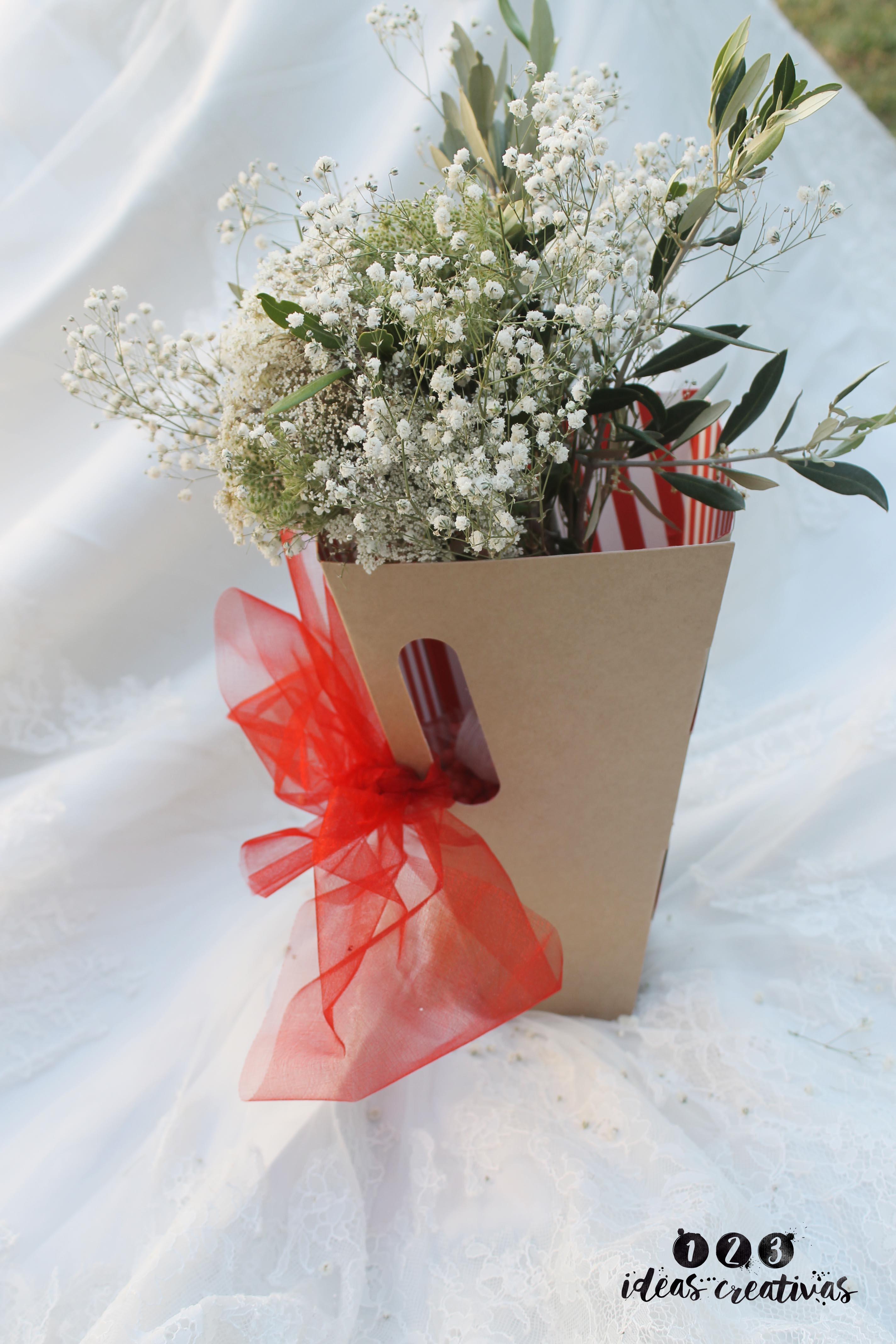 convertir caja en invitación de bodas
